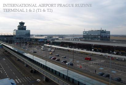 lufthavn i prag